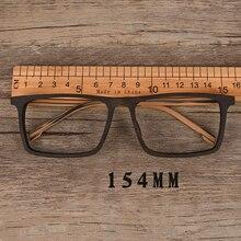 Vazrobe большие очки мужские поддельные деревянные ацетатные очки оправа для мужчин близорукость очки для рецепта фотохромные