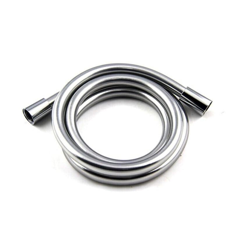 1.5//2//3 m PVC Smooth Shower Hose Thickening Handheld Head Flexible Anti Winding