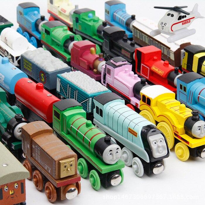 Паровозик Томас и его друзья, деревянный паровозик, горячая Распродажа 2019, паровозик Томас и его друзья для детей, подарок на выбор