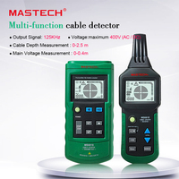 Digital MASTECH MS6818 advanced wire tester tracker multi function Cable detector 12~400V Pipe Locator Meter With blacklight