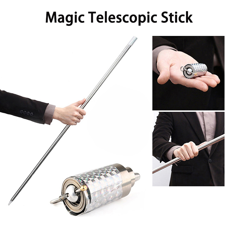 Car Anti-wolf Steel Wand Elastic Stick 110cm/150cm Portable Self Defense Telescopic Rod Martial Arts Metal Magic Pocket Outdoor