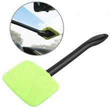 Window Cleaner Brush Kit Car Window Windshield Cleaning Wash Tool Inside Interior Auto Glass Wiper Detachable Car Accessories cheap CN(Origin) 34cm plastic Support