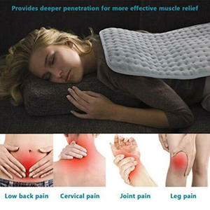 Electric Heating Pad Blanket Heat Pads For Back Neck Pain Relief Aesthetic