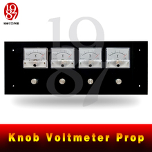 JXKJ1987 real life escape room game props knob voltmeter prop Adventures need to rotate the pointers to right position to unlock