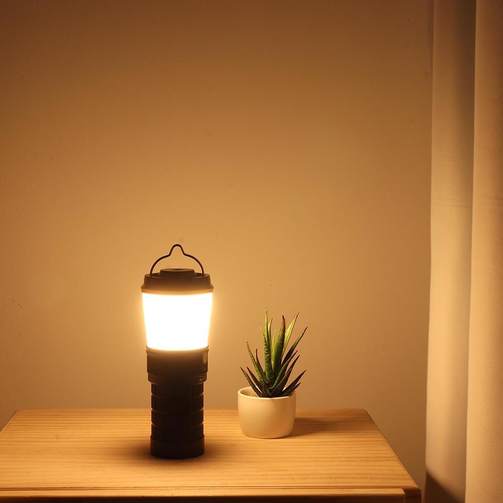 super brilhante recarregável lanterna acampamento caminhadas tocha