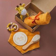 Детское полотенце набор игрушек для Купания новорожденных Двустороннее