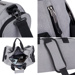 Image 5 - Sports Gym Shoulder Bags, Dry Wet Separation Fitness Hand Bags,Multifunction Training Yoga Crossbody Bag, Shoes Bags