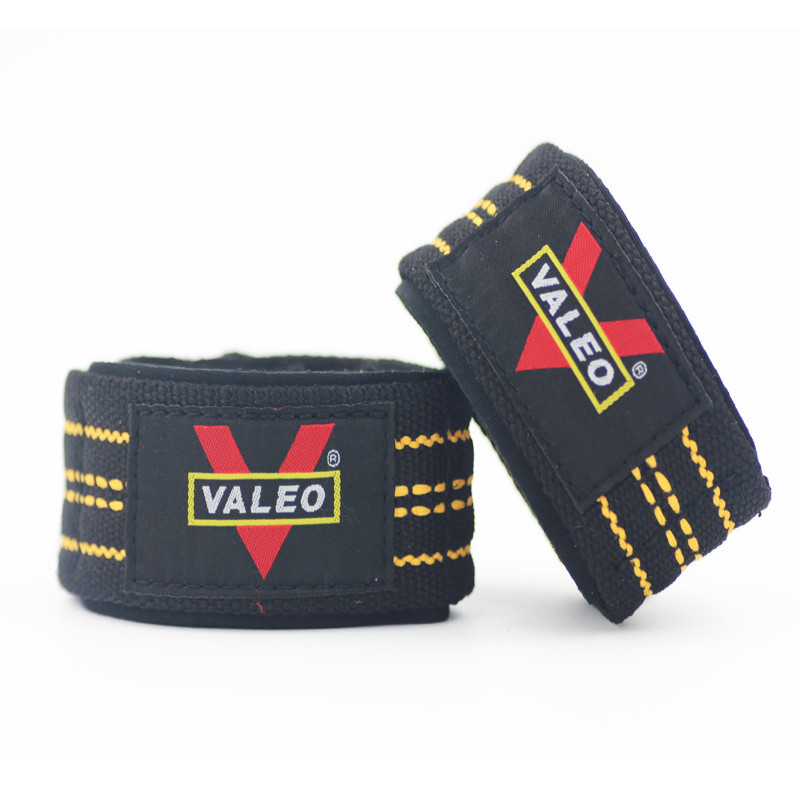 VALEO Fitness Wrist Protector Cotton Weightlifting Booster Hose Tension Band Men's Strength Training Barbell