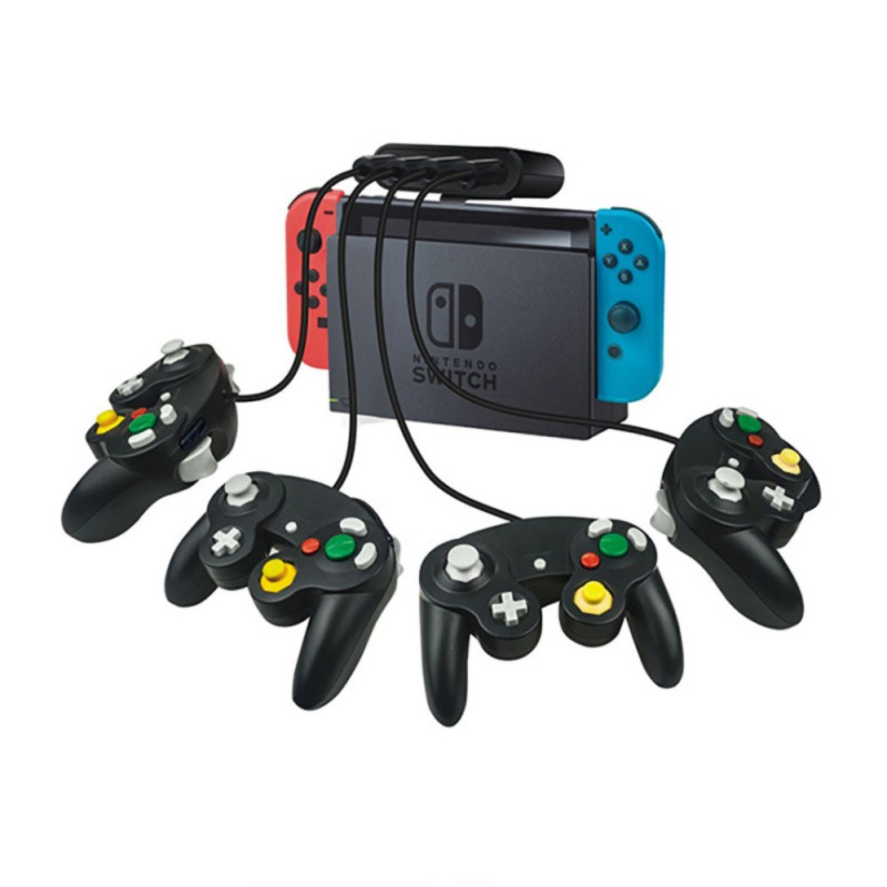 2019 New for Smash   Brothers   GameCube   PC   Switch   Wii U 3-in-1 4-Port USB For Game Cube Controller Adapter