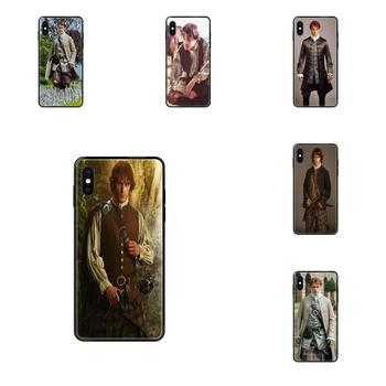 Soft TPU Black Mobile Case Jamie Fraser Outlander For Redmi Note 4 5 5A 6 7 8 8T 9 9S Pro Max image