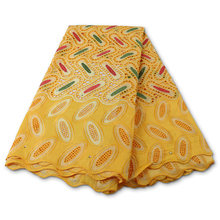 Swiss Voile Fabrics Embroidery Lace Switzerland African Soft PGC for Dress YA3889B-4