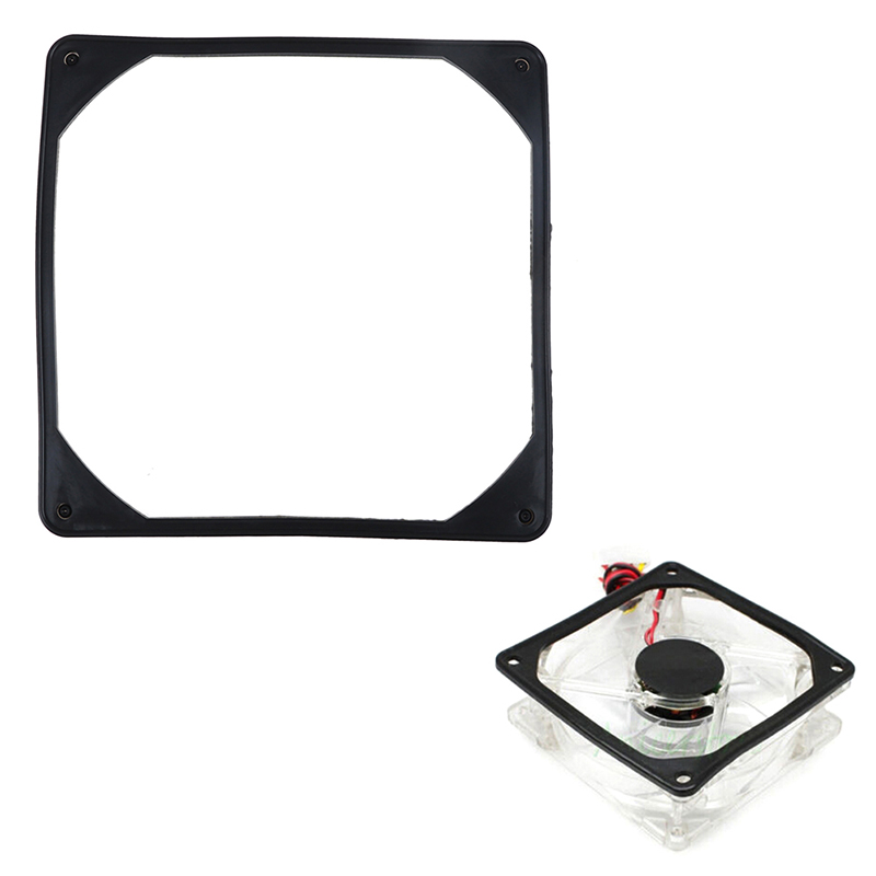 80mm/ 140mm PC Case Fan Anti Vibration Gasket Silicone Shock Proof Absorption Pad