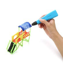 3D Pen LED Screen DIY 3D Printing Pen PLA Filament Creative Toy Gift For Kids Design Drawing 3D Printer Pen Drawing Stift Pen