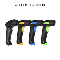 Aibecy 2 in 1 2.4G Wireless Barcode Scanner & USB Wired Barcode Scanner Automatic Handheld 2D 1D Bar Code Scanner Reader
