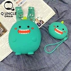 Q wujek Funny Joy nowe słodkie dzieci silikonowy plecak zabawka Mini tornister prezenty dla dzieci chłopiec dziewczyna dziecko torby dla uczniów urocze torby