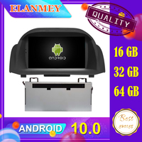 Latest car Android 10.0 audio video system Fit for FORD FIESTA 2009 2010 2011 2012 car navigation radio multimedia DVD function