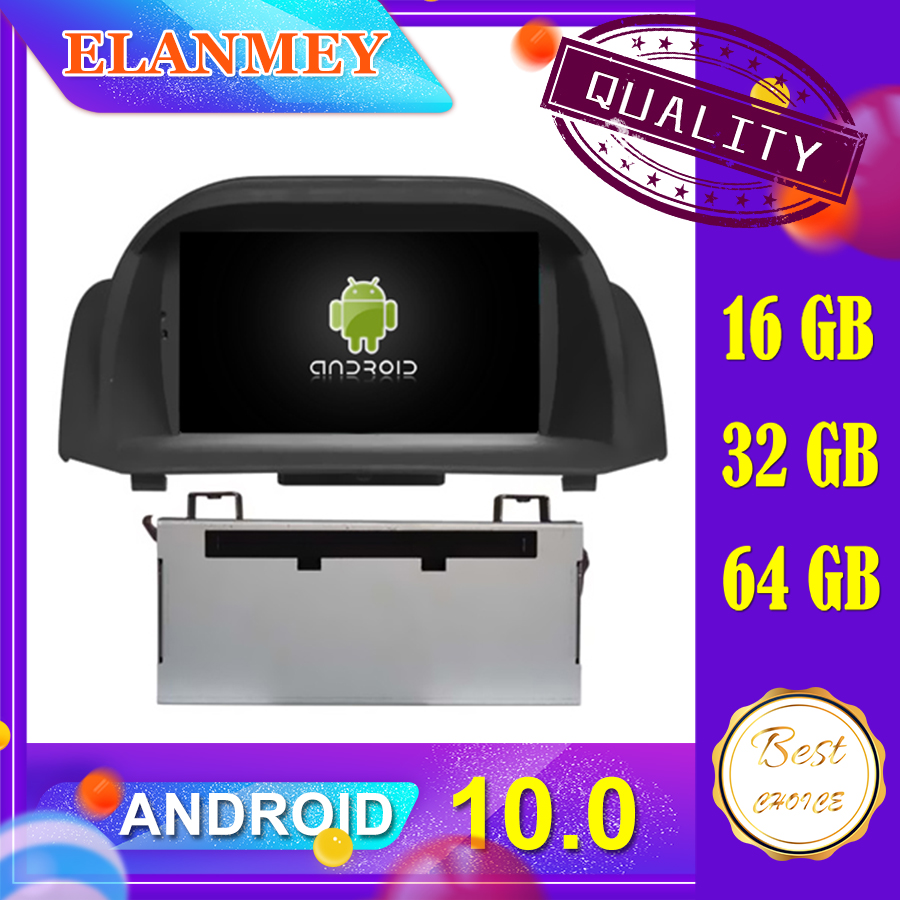 Latest car Android 10.0 audio video system Fit for <font><b>FORD</b></font> <font><b>FIESTA</b></font> 2009 2010 2011 2012 car navigation radio multimedia DVD function image