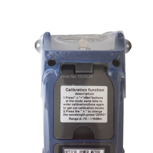 Image 4 - Free Shipping Fiber Optical Power Meter Fiber Optical Cable Tester  70~+10dBm or  50~+26dBm with FC SC Connector
