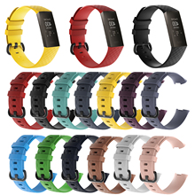 Watch Strap For Fitbit Charge 3 Band Wristband Breatable Fexible Silicone Replacement Watchband For For Fitbit Charge 3 Strap retro leather strap bracelet for fitbit charge 3 band replacement watch band for fitbit charge 3 smart watchband accessories