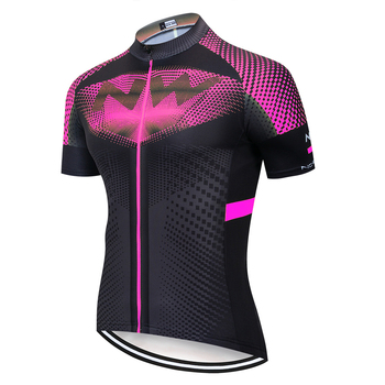 2020 NW Pro team Summer Jerseys Bike Shirt Men's Cycling Jersey Ciclismo Bicicleta Sportswear Maillot Ciclismo Breathable - Pic Color, L