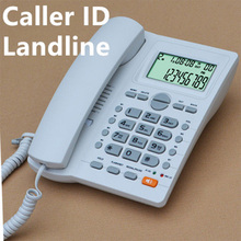 Telefone Wall-Mounted Telephone Landline Corded Caller ID Battery-free Desktop Phone Home Office Hotel landline phone