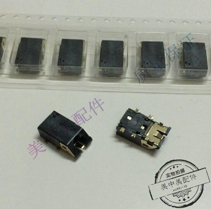 (5 pces) 3.5mm tomada de fone de ouvido porta oblíqua 6p 4 remendo 2 pinos áudio base do telefone móvel soquete comum