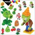 BOYU игрушки алмазные гранулы собранные строительные блоки кирпичи растения мультфильм зомби подарки игры обучающая игрушка фигурки