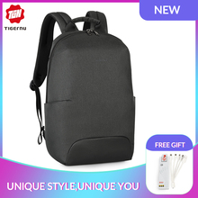 Tigernu 2019 New Design RFID Man Backpack Fit 15.6 inch Laptop Backpack Schoolbag splash Proof Male Bag Anti Thief Mochila рюкзак tigernu t b3237 black