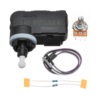 цена на New Auto Headlight Adjustment Motor 12V Linear Servo Gear Motor Linear Actuator For Speed 1mm/s