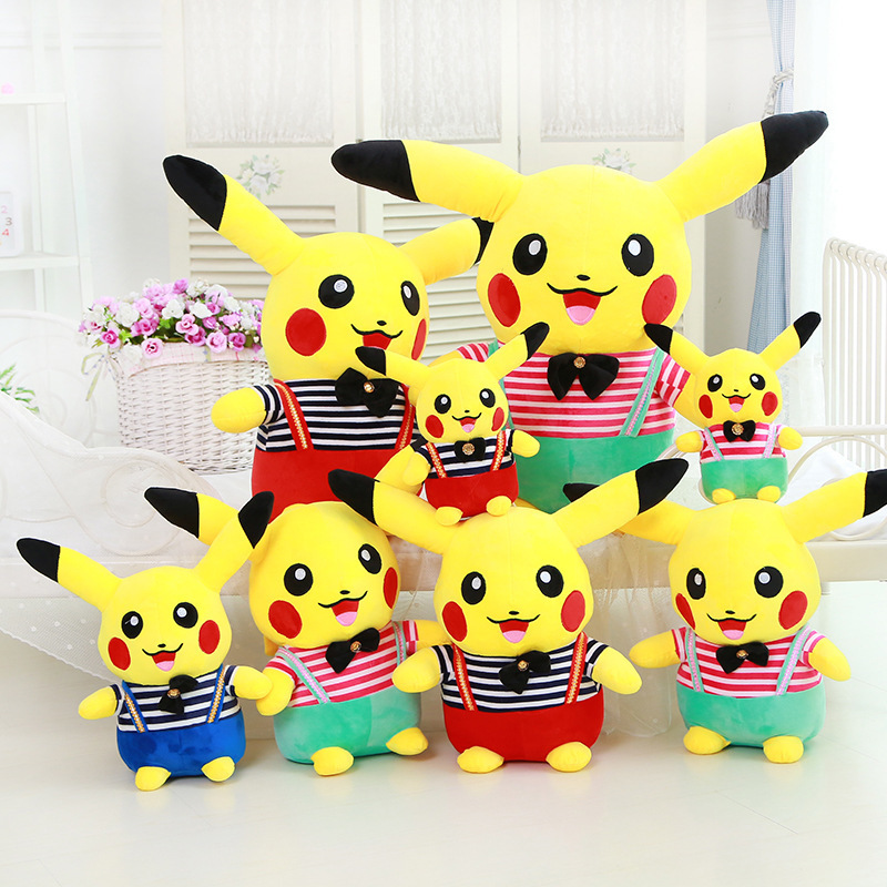 The Factory Sells The Real Pokemon Pet Spirit Pikachu Magic Baby Fleece Boy Bika.