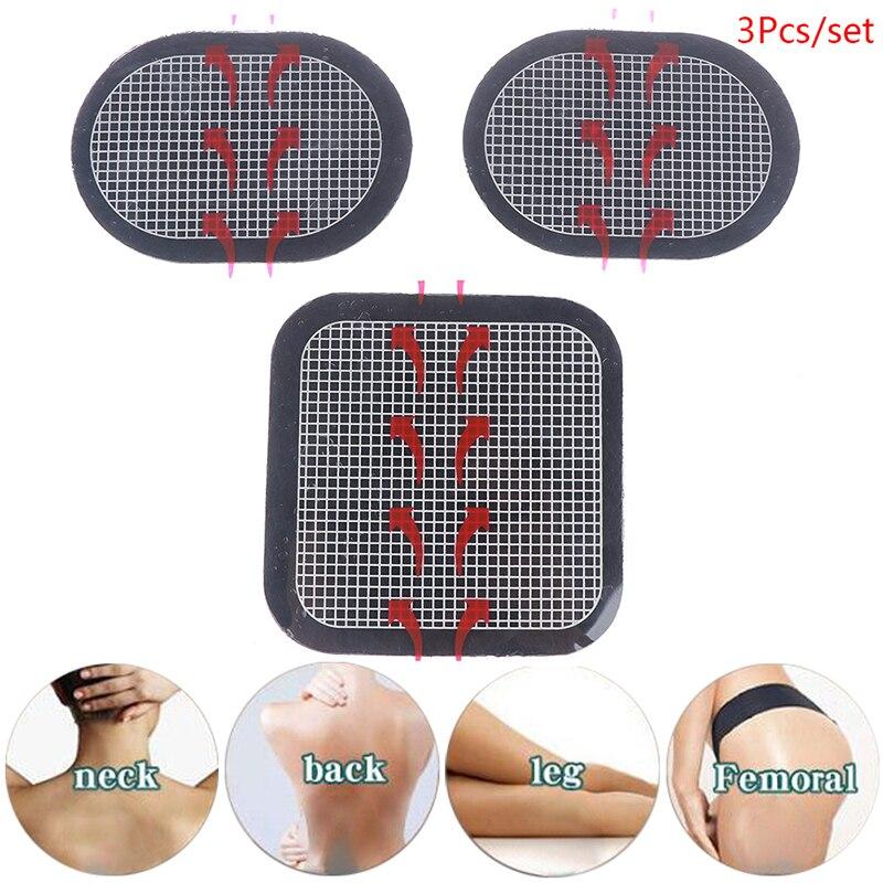 3pcs/lot Muscles Training Massage Waist Replacement Gel Pads Massager Patch For Stimulator Trainer Toning Belt Accessories