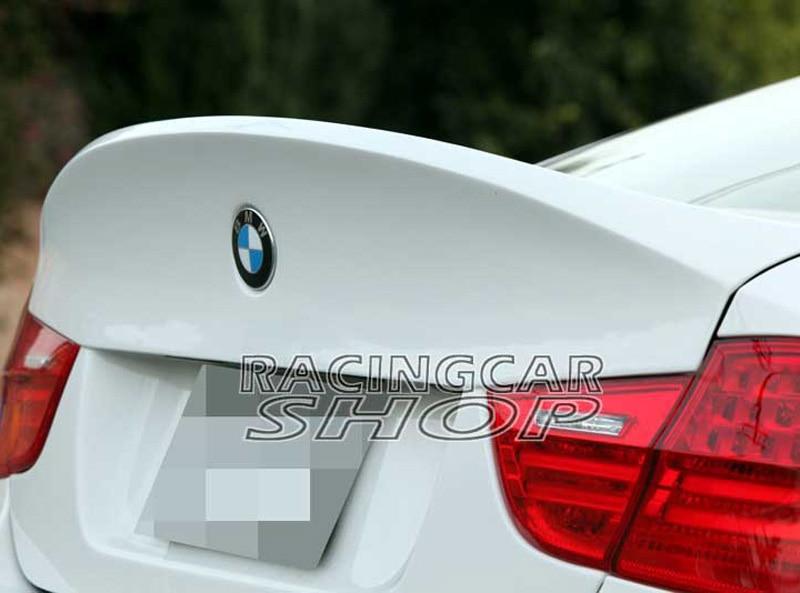 UNPAINTED CSL สไตล์ด้านหลัง tailgate Trunk สำหรับ BMW 3-Series E90 LCI M3 4 ประตู 2009-2011 B058F