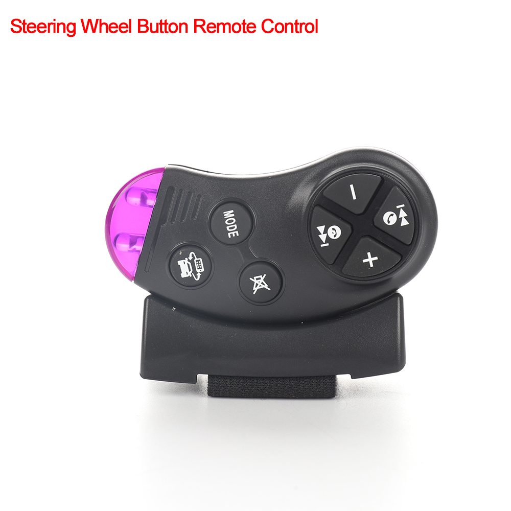 Universal Car Steering Wheel Button Remote Control for Auto Car Navigation DVD Multimedia Music Player Car Radio Hot Sale
