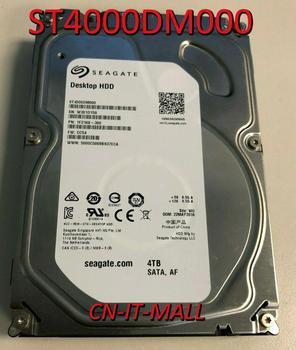 """Seagate Desktop HDD ST4000DM000 4TB 64MB Cache SATA 6.0Gb/s 3.5"""" Internal Hard Drive"""