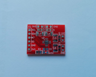 FDC2214 Module Adapter Plate Evaluation Board Electronic Design Competition Dedicated TPS63020 Evaluation Board