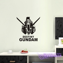 GUNDAM Wall Decal Vinyl Wall Stickers Decal Decor Home Decorative Decoration Anime Destiny Gundam Car Sticker car sticker japanese cartoon fans seed gundam raiser vinyl wall stickers decal decor home decoration