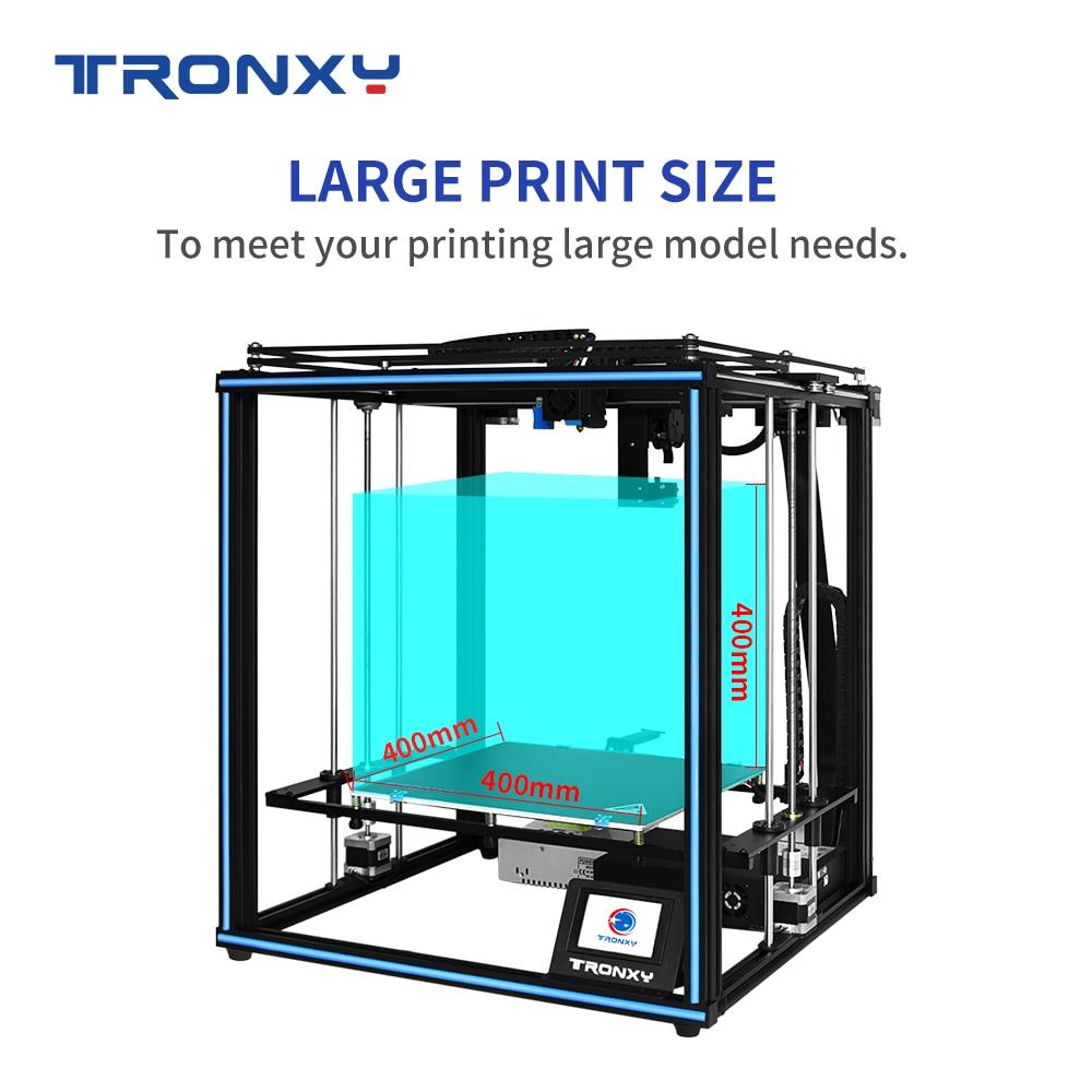 X5SA-400 2E / X5SA-400 Высокоточный Настольный 3D-принтеры комплект DIY самостоятельно, как с печатью Размеры 400 мм * 400 мм * 400 мм и 8G SD карты
