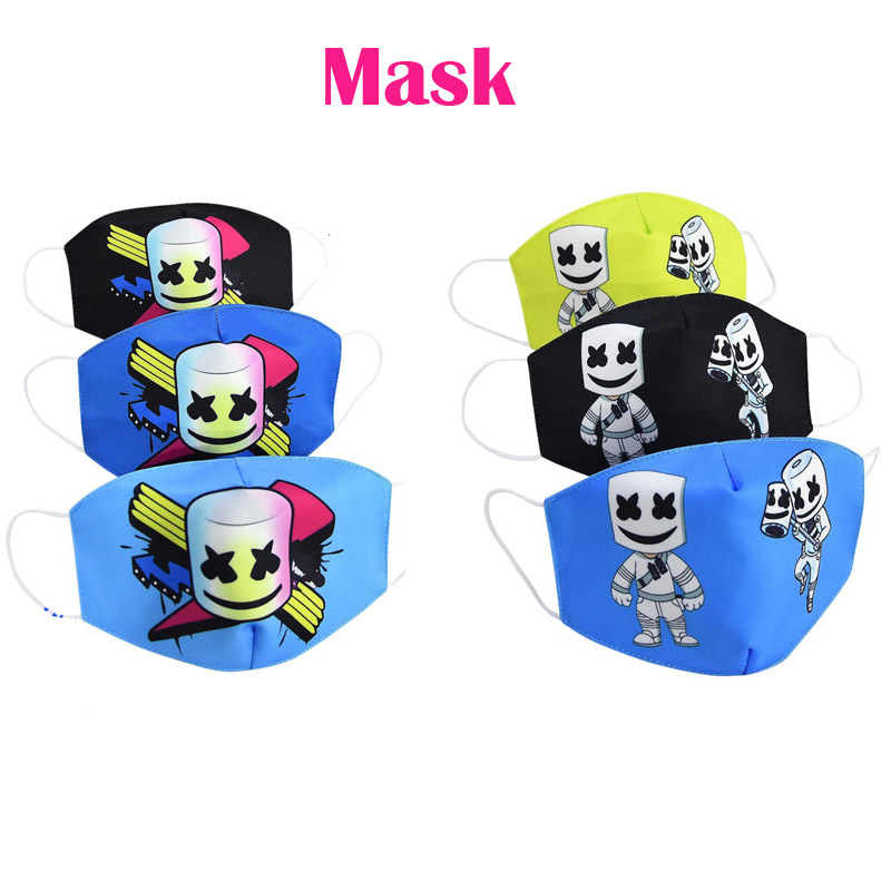 1Pcs PM2.5 Children Mouth Masks Boys Girls Respiratory Cartoon Warm Dust Mask Kids DJ Mask Y05ZXT189