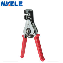 Automatic cable wire stripper stripping crimper crimping plier