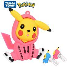 Hot Sale Pokémon Pikachu Doll Tide Clothes Car Aromatherapy Air Conditioner Air Outlet Pendant Cute Car Interior Decoration Toy