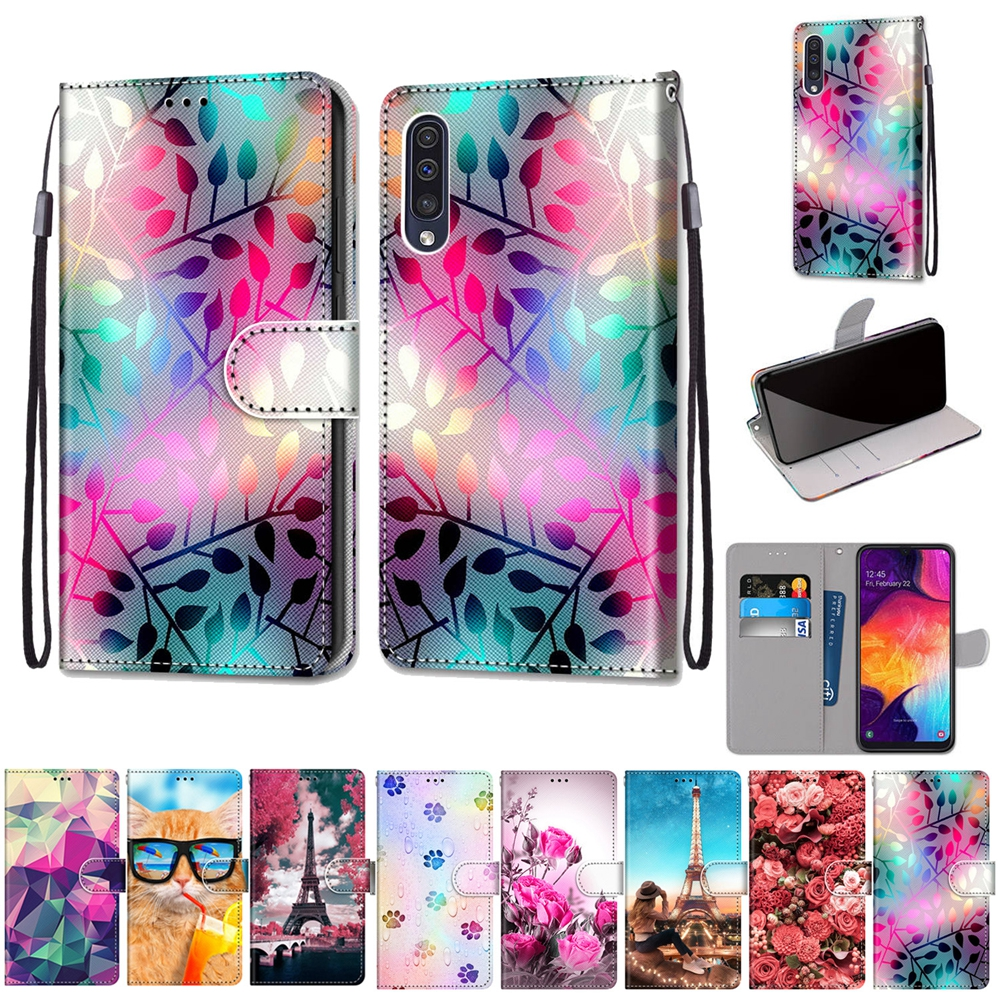 A50 A70 Leather Phone Case for Samsung Galaxy A10 A20 A30 A40 A50 A60 A70 A80 M40 Case Luxury Magnetic Flip Wallet Cover Coque 1