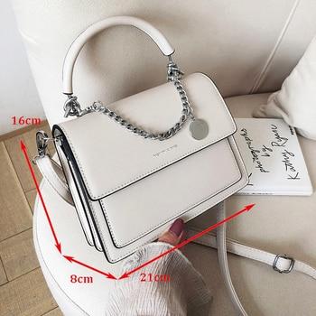 Elegant Female Casual Tote Bag 2019 Fashion High Quality PU Leather Womens Designer Handbag Vintage Shoulder Messenger bag