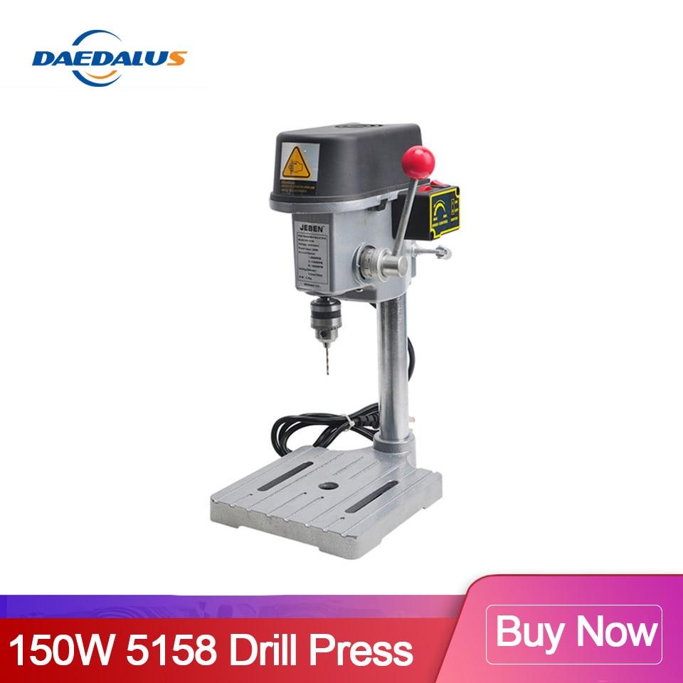 2020 neue Angekommene 5158 Bohrmaschine Tabelle Bohrer Stand Bank Tisch Clamp Mini Bohrmaschine Variable Power Werkzeuge Für CNC holz