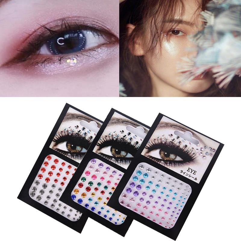 Diamond Makeup Eyeshadow Face Sticker Jewel Eyes Makeup Crystal Eyes Sticker