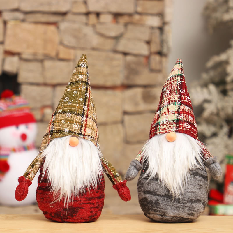 Christmas Decorations Santa Claus Doll for Home Decor Tree Decoration