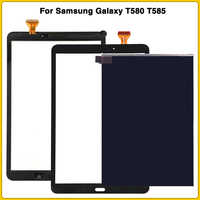 New T585 LCD Touch Screen For Samsung Tab A SM-T580 SM-T585 T580 LCD Display Touch Panel Digitizer Sensor Glass Lens