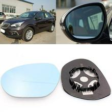 For Buick Envision 2014-2017 Side View Door Mirror Blue Glass With Base Heated