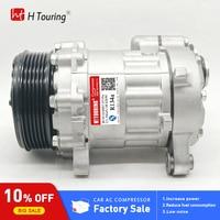 SD7B10 7B10 COMPRESSOR AC Para Volkswagen Polo 6N0820803A 6N0820803AX DCP32007 8FK351128031 TSP0155057 7158 7188|Instalação de ar-condicionado| |  -