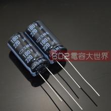 50pcs/lot Original JAPAN NIPPON SMG series 85C Fever audio capacitance aluminum electrolytic capacitor free shipping