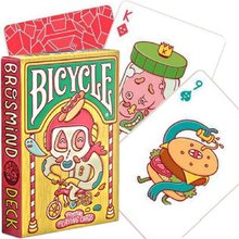 Bicycle Brosmind Deck Doll House Playing Cards Poker Size Custom Art Magic Tricks Magic Props Magia Deck Lovely Gift Free Ship(China)
